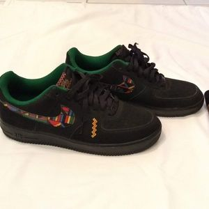 """Nike Air Force 1 Low """"Urban Jungle Gym"""" Peace Sign"""